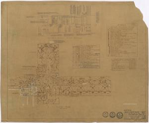 Primary view of object titled 'Hospital Building, Spur, Texas: Electrical Plan'.