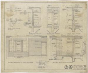 Primary view of object titled 'Hospital Building, Spur, Texas: Section Plans'.