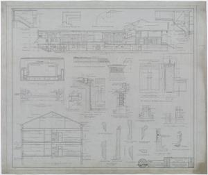 Primary view of object titled 'Hendrick Home for Children, Abilene, Texas: Section Drawings and Detail Drawings'.