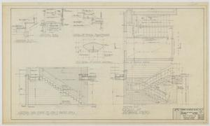 Primary view of object titled 'Highland Methodist Church, Odessa, Texas: Detail Drawings'.