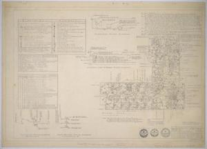 Primary view of object titled 'Reagan County Hospital Building, Big Lake, Texas: Floor Plan'.