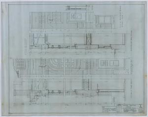 Primary view of object titled 'Central Christian Church, Stamford, Texas: Section Plans'.