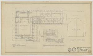 Primary view of object titled 'Highland Methodist Church, Odessa, Texas: Second Floor Plan'.
