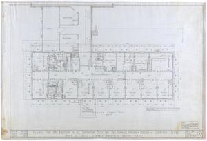 Primary view of object titled 'Sanitarium Building Additions, Stamford, Texas: Second Floor'.