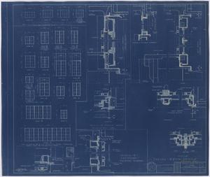Primary view of object titled 'Hendrick Home for Children, Abilene, Texas: Window Plans [Proof]'.