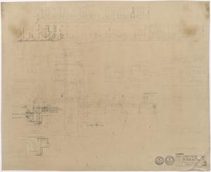 Primary view of object titled 'Hospital Building, Spur, Texas: Plumbing Plan'.