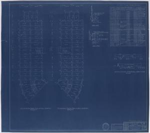 Primary view of object titled 'Hendrick Home for Children, Abilene, Texas: Dormitory Second Floor Framing Plan [Proof]'.