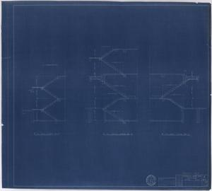 Primary view of object titled 'Hendrick Home for Children, Abilene, Texas: Stair Details [Proof]'.