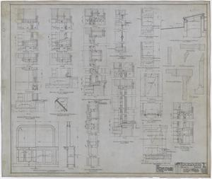 Primary view of object titled 'Hamilton Hospital, Olney, Texas: Architectural Drawings'.