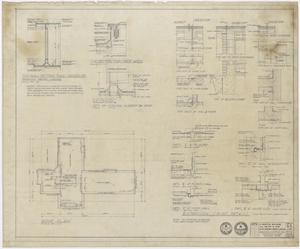 Primary view of object titled 'Hospital Building, Spur, Texas: Roof Plan'.