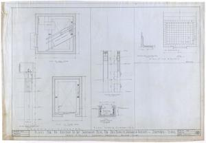 Primary view of object titled 'Sanitarium Building Additions, Stamford, Texas: Elevator'.