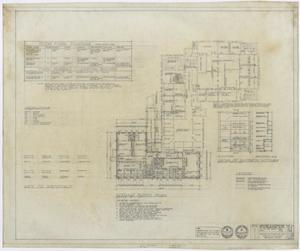 Primary view of object titled 'First Baptist Church Educational Building Additions: Ground Floor Plan'.