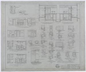 Primary view of object titled 'Hendrick Home for Children, Abilene, Texas: Section and Detail Plans'.