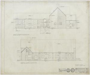 Primary view of object titled 'First Methodist Church Additions: Elevations'.