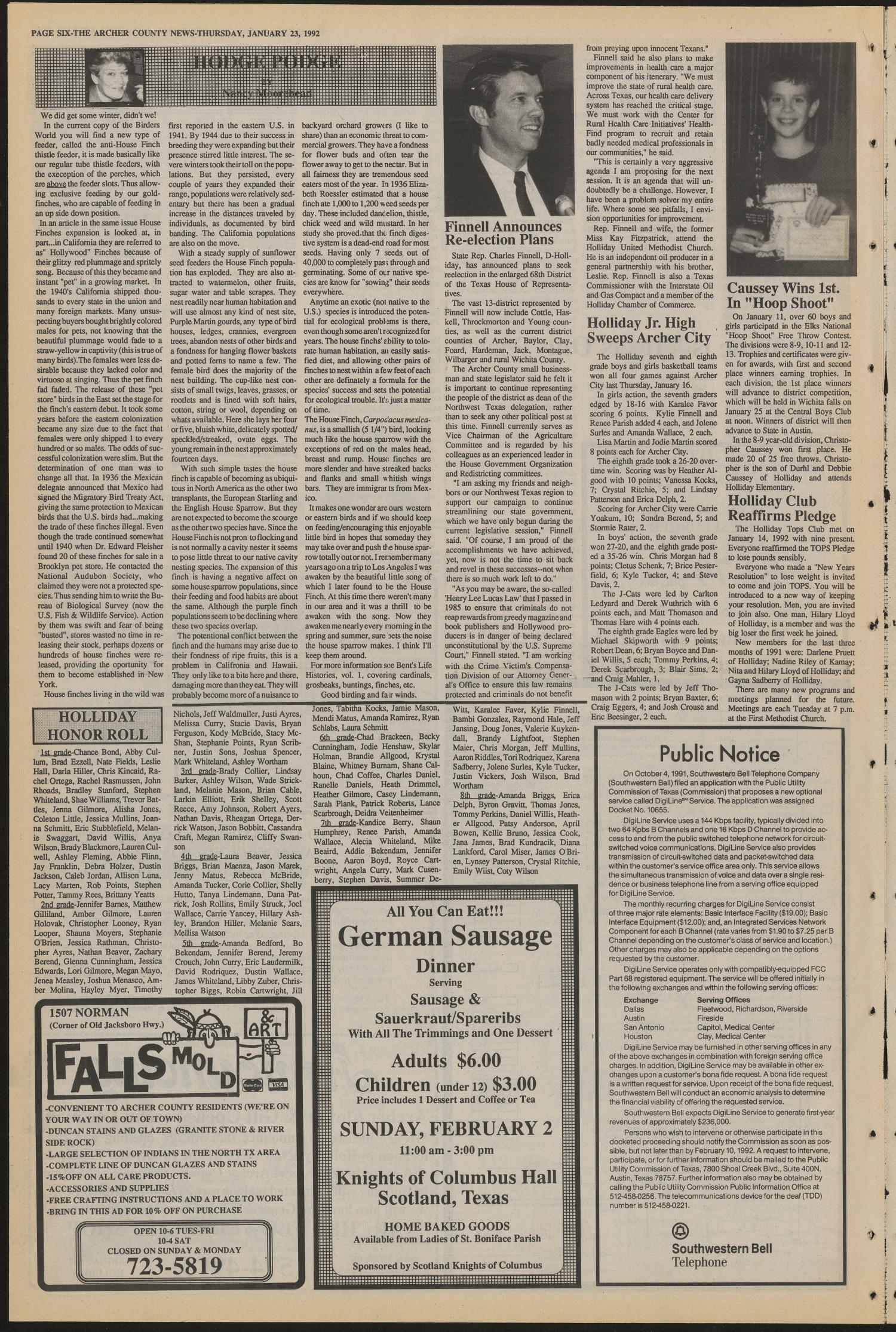 Archer County News (Archer City, Tex ), No  4, Ed  1 Thursday