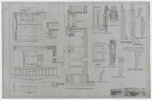 Primary view of object titled 'High School Building, Fort Stockton, Texas: Auditorium Detail Plan'.