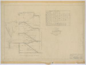 Primary view of object titled 'Irion County Courthouse: Structural Plans, Stairs'.