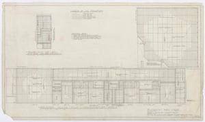 Primary view of object titled 'Elementary School Building, Fort Stockton, Texas: Ceiling Plans'.