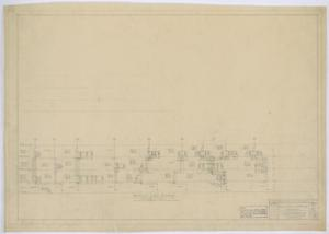 Primary view of object titled 'Irion County Courthouse: Plumbing, Heating, and Electrical, Plumbing Riser Diagram'.