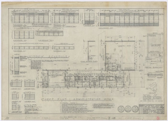 Elementary Building, Fort Stockton, Texas: Floor Plan ... on