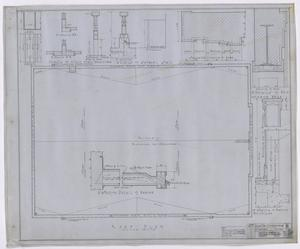 Primary view of object titled 'City Auditorium, Stamford, Texas: Roof Plan and Details'.