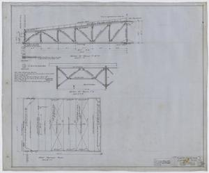Primary view of object titled 'City Auditorium, Stamford, Texas: Framing Plan'.