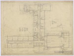 Primary view of object titled 'School Buildings, Eldorado, Texas: Floor Plan'.
