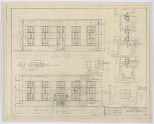 Primary view of object titled 'Hamlin City Hall: Elevations and Plot Plan'.