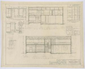 Primary view of object titled 'Hamlin City Hall: Section Drawings'.