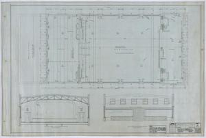 Primary view of object titled 'Olney City Hall and Fire Station: Plans for a City Hall and Fire Station, Roof'.