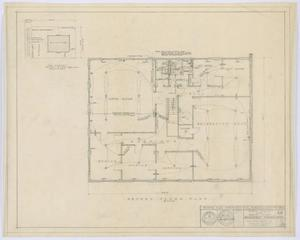 Primary view of object titled 'Hamlin City Hall: Electrical, Plumbing, and Gas Piping Plans'.