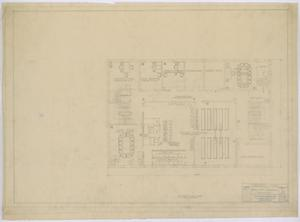 Primary view of object titled 'Irion County Courthouse: Furniture Plans, Second Floor'.