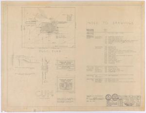 Primary view of object titled 'Sterling County Courthouse: Plot and Index'.
