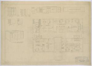 Primary view of object titled 'Irion County Courthouse: Furniture Plans'.