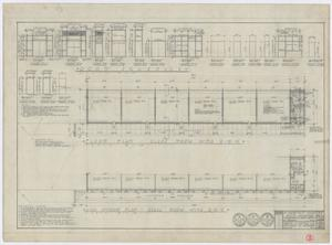 Primary view of object titled 'Elementary School Building, Fort Stockton, Texas: Floor Plan, Window Plan, and Details'.