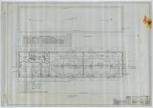 Primary view of object titled 'Winkler County Jail, Kermit, Texas: Floor Plan'.