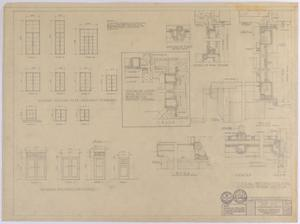 Primary view of object titled 'Sterling County Courthouse: General Construction'.