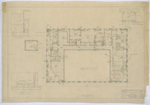 Primary view of object titled 'Irion County Courthouse: Plumbing, Heating, and Electric, Third Floor'.
