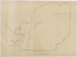 Primary view of object titled 'Eastland High School, Eastland, Texas: Moulding Plan'.