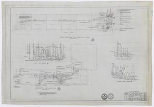 Primary view of object titled 'Elementary School Building, Fort Stockton, Texas: Plumbing Plan'.