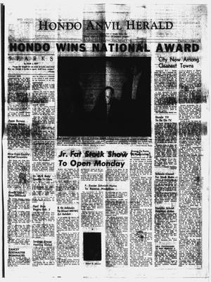 Primary view of object titled 'Hondo Anvil Herald (Hondo, Tex.), Vol. 80, No. 5, Ed. 1 Friday, February 4, 1966'.