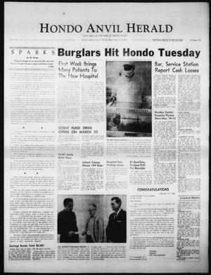 Primary view of object titled 'Hondo Anvil Herald (Hondo, Tex.), Vol. 78, No. 10, Ed. 1 Friday, March 6, 1964'.