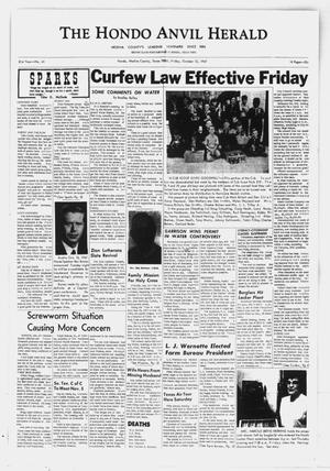 Primary view of The Hondo Anvil Herald (Hondo, Tex.), Vol. 81, No. 41, Ed. 1 Friday, October 13, 1967