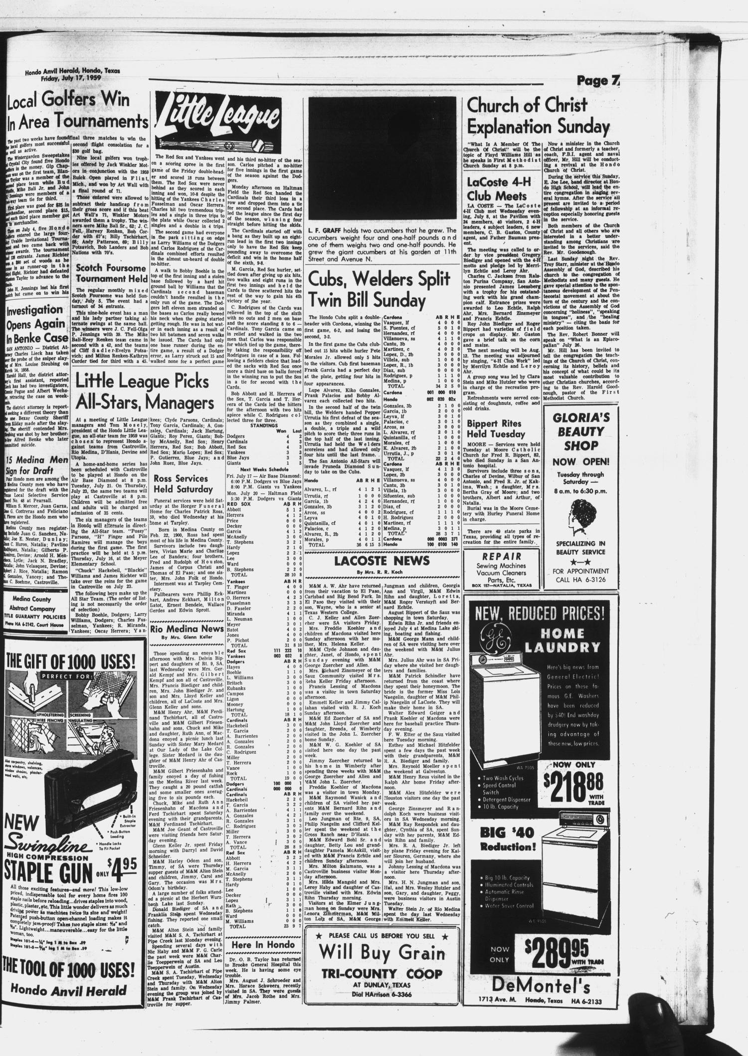 Hondo Anvil Herald (Hondo, Tex ), Vol  73, No  29, Ed  1