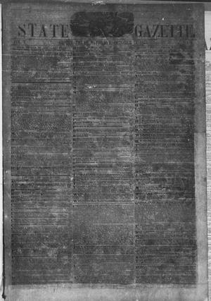 Primary view of object titled 'Texas State Gazette. (Austin, Tex.), Vol. 5, No. 9, Ed. 1, Saturday, October 15, 1853'.