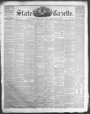 Primary view of object titled 'State Gazette. (Austin, Tex.), Vol. 7, No. 40, Ed. 1, Saturday, May 24, 1856'.