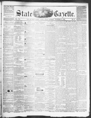 Primary view of object titled 'State Gazette. (Austin, Tex.), Vol. 8, No. 15, Ed. 1, Saturday, November 29, 1856'.