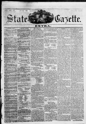 Primary view of object titled 'State Gazette. (Austin, Tex.), Vol. 8, No. 20, Ed. 1, Saturday, January 3, 1857'.