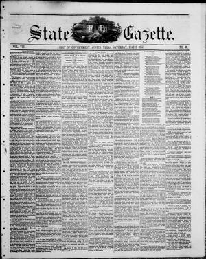 State Gazette. (Austin, Tex.), Vol. 8, No. 37, Ed. 1, Saturday, May 2, 1857