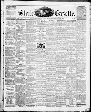 Primary view of object titled 'State Gazette. (Austin, Tex.), Vol. 8, No. 39, Ed. 1, Saturday, May 16, 1857'.